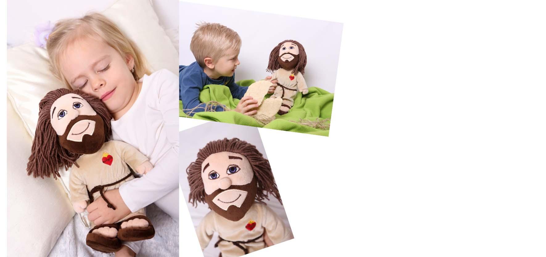 Plyšový Ježíšek – kamarád na mši a společník k modlitbě